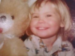 2-year-old Kristine 1978