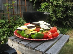 vegetables pre Ratatouille
