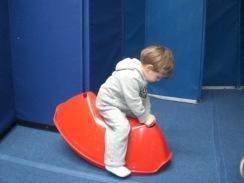 henry preschool rocking horse