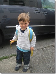 henry first day of school 09.08.09