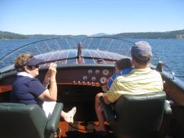 boating to eddies