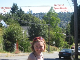 walking over the hills in seattle 7.24.10
