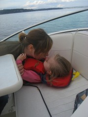boat kisses