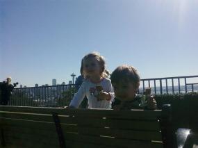 ruby & henry on sunny day