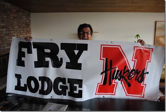 the new husker banner!