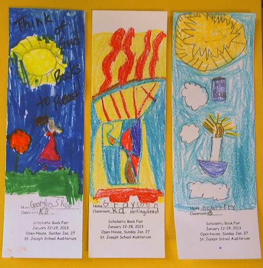 st joseph bookmark contest