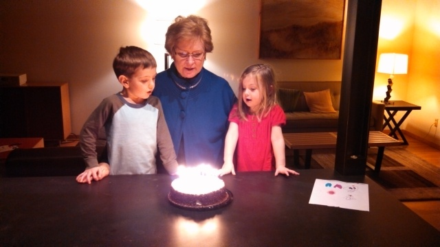 Grandma Eiting's Birthday 2013