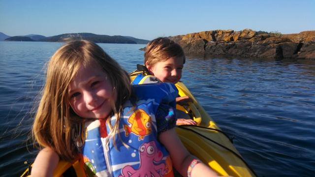 kayaking with dad 07 05 13